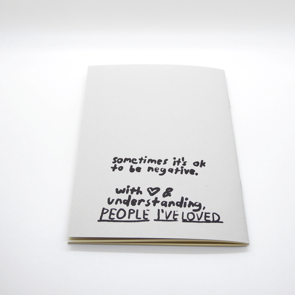 People I've Loved Notebook - All The Bad Stuff - Leaves Stationery Store