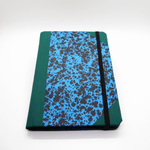 Emilio Braga Cloud Print A6 Notebook - Blue
