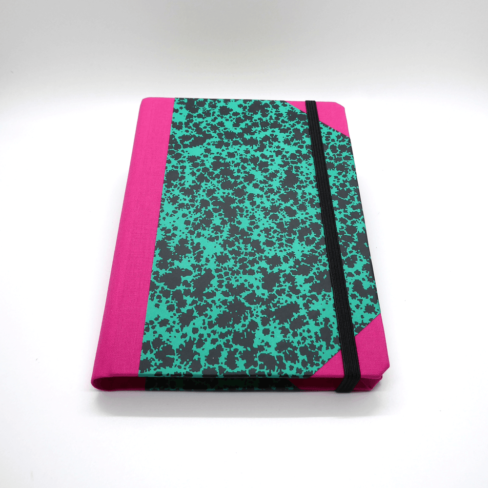 Emilio Braga Cloud Print A6 Notebook - Green