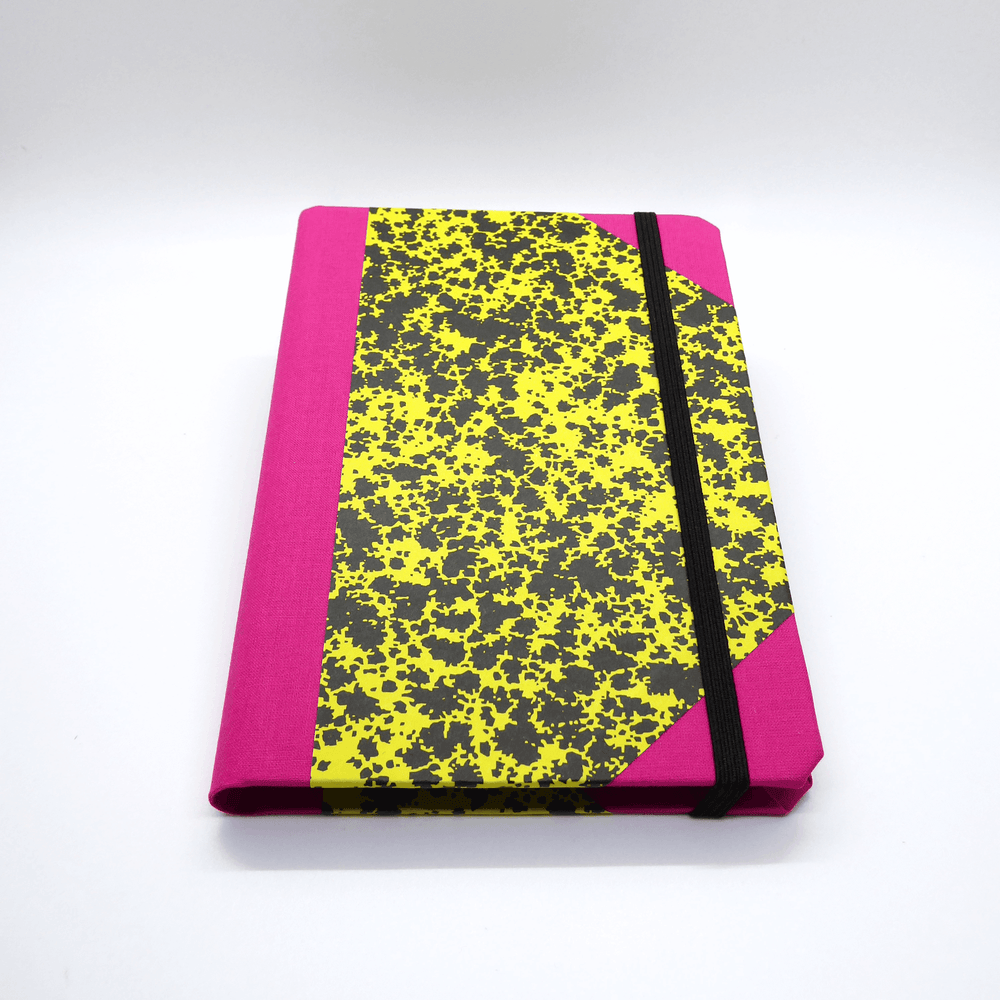 Emilio Braga Cloud Print A6 Notebook - Yellow