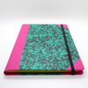 Emilio Braga Cloud Print A5 Notebook - Green - Leaves Stationery Store