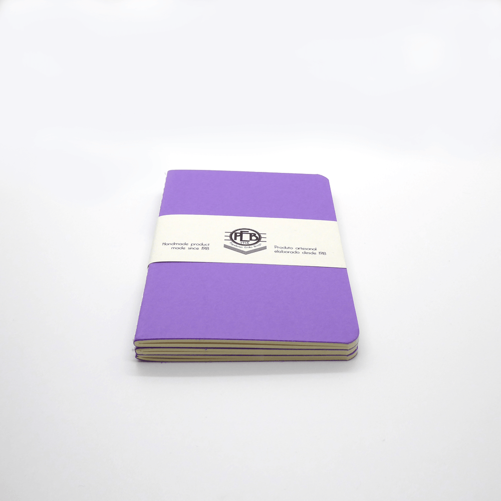 Emilio Braga Stitched A6 Notebooks - Leaves Stationery Store