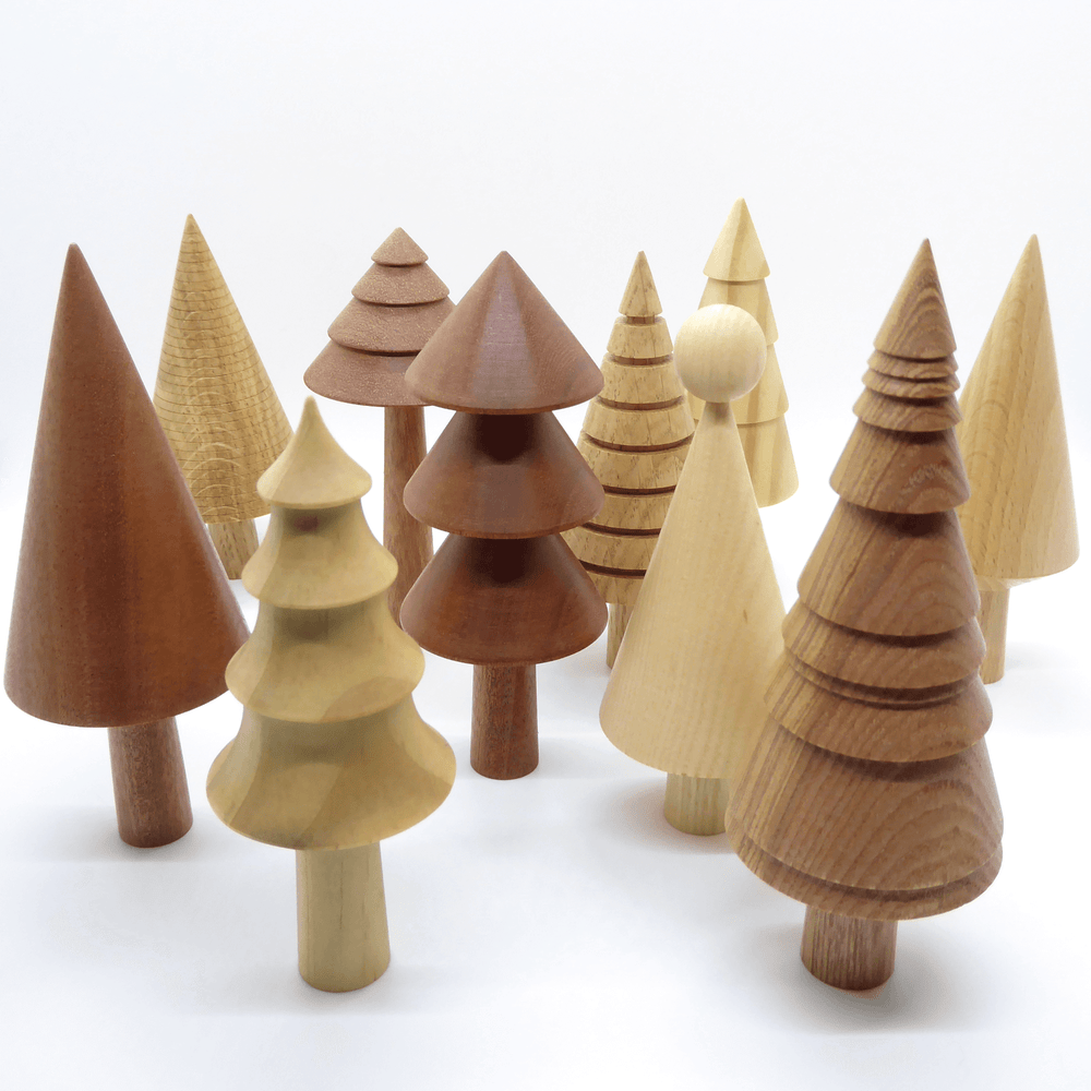 Forge Creative Wooden Trees - Forest
