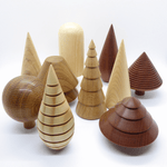 Forge Creative Wooden Trees - Shrubs & Bushes - Leaves Stationery Store