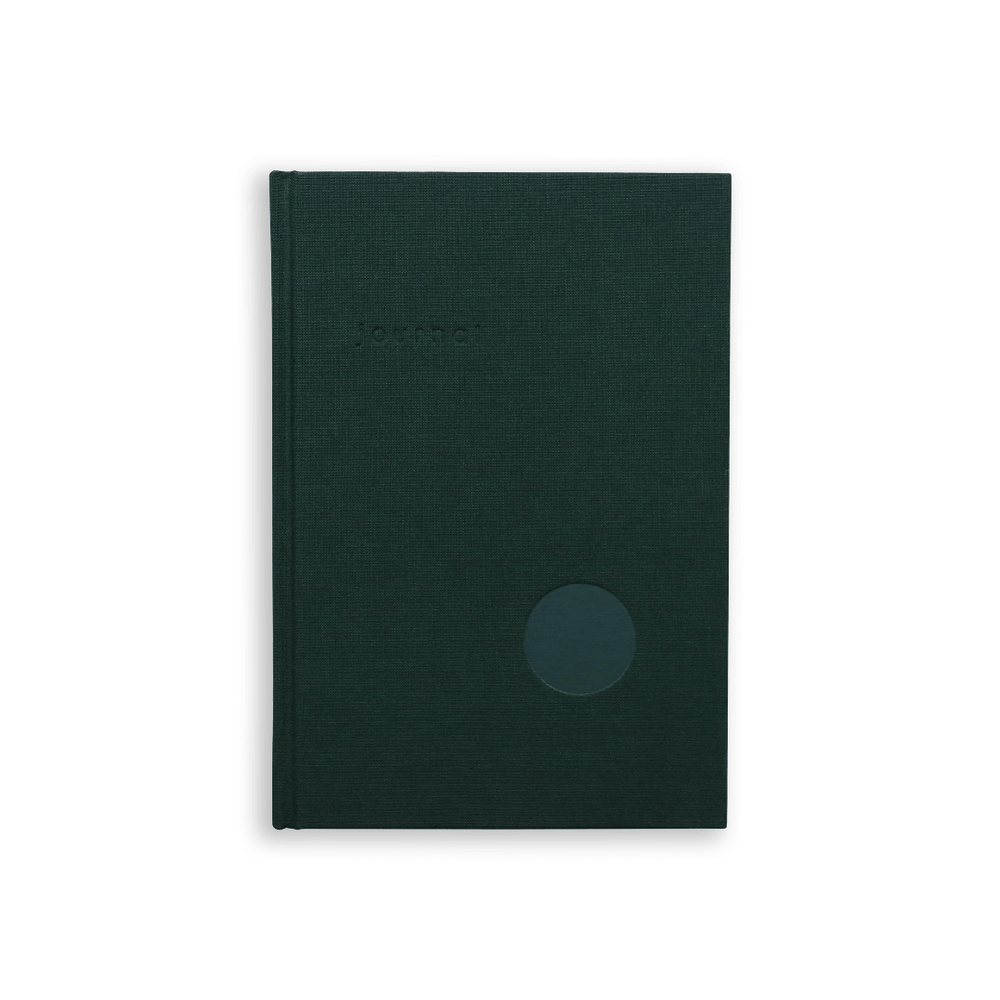 Kartotek Copenhagen Hardcover A5 Journal - Dark Green
