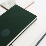 Kartotek Copenhagen Hardcover A5 Journal - Dark Green - Leaves Stationery Store