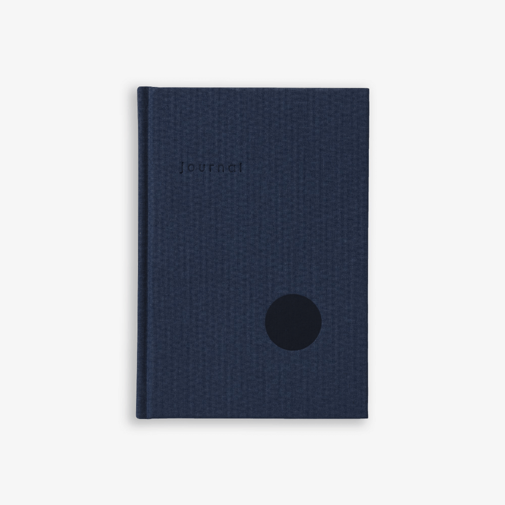 Kartotek Copenhagen Hardcover A5 Journal - Navy