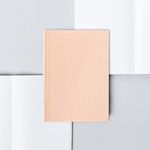 Ola Pocket Notebook Plain - Pale Pink - Leaves Stationery Store