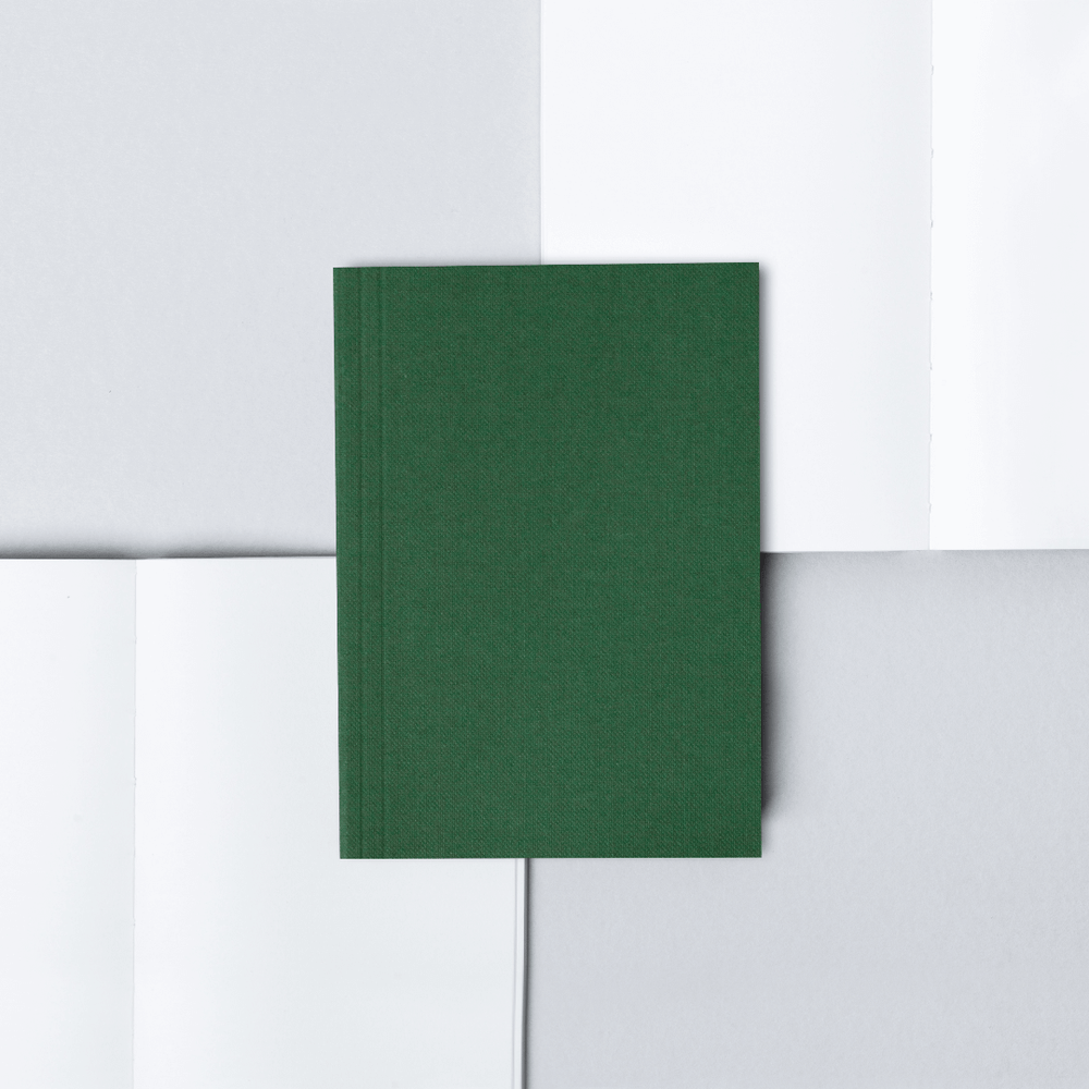 Ola Pocket Weekly Planner Plain - Green - Leaves Stationery Store