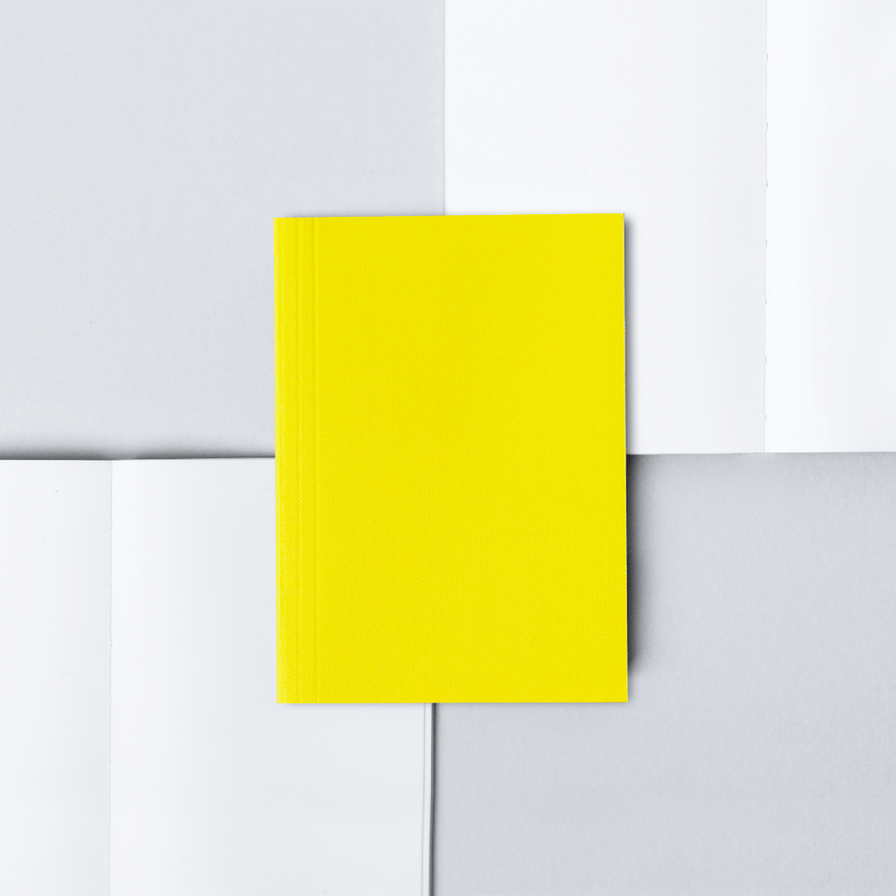 Ola Pocket Weekly Planner Plain - Yellow