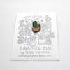 People I've Loved Enamel Pin - Feeling Prickly - Leaves Stationery Store