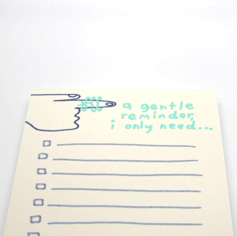 People I've Loved Notepad - Gentle Reminder - Leaves Stationery Store