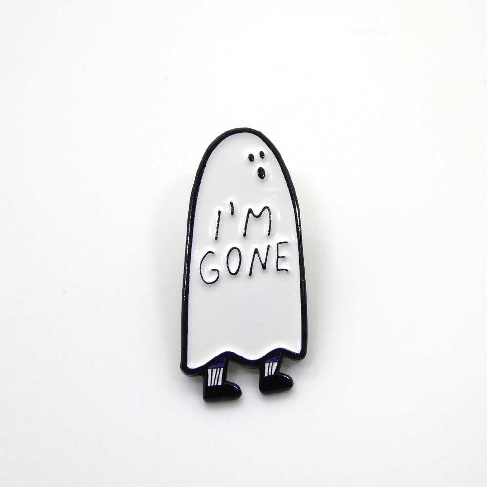 People I've Loved Enamel Pin - I'm Gone - Leaves Stationery Store
