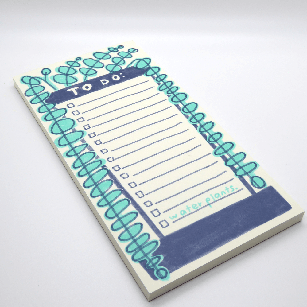 People I've Loved To Do Notepad - Plants - Leaves Stationery Store