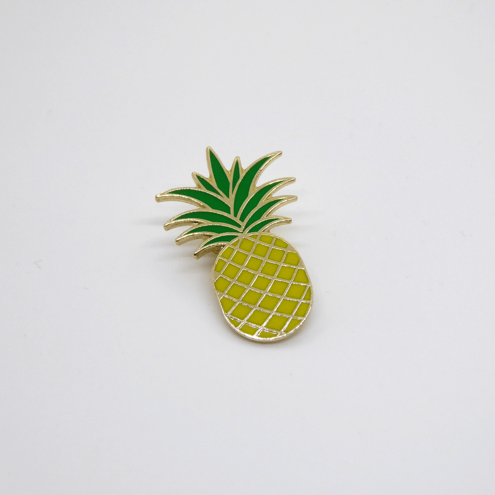 Red Fries Enamel Pin Badge - Pineapple - Leaves Stationery Store