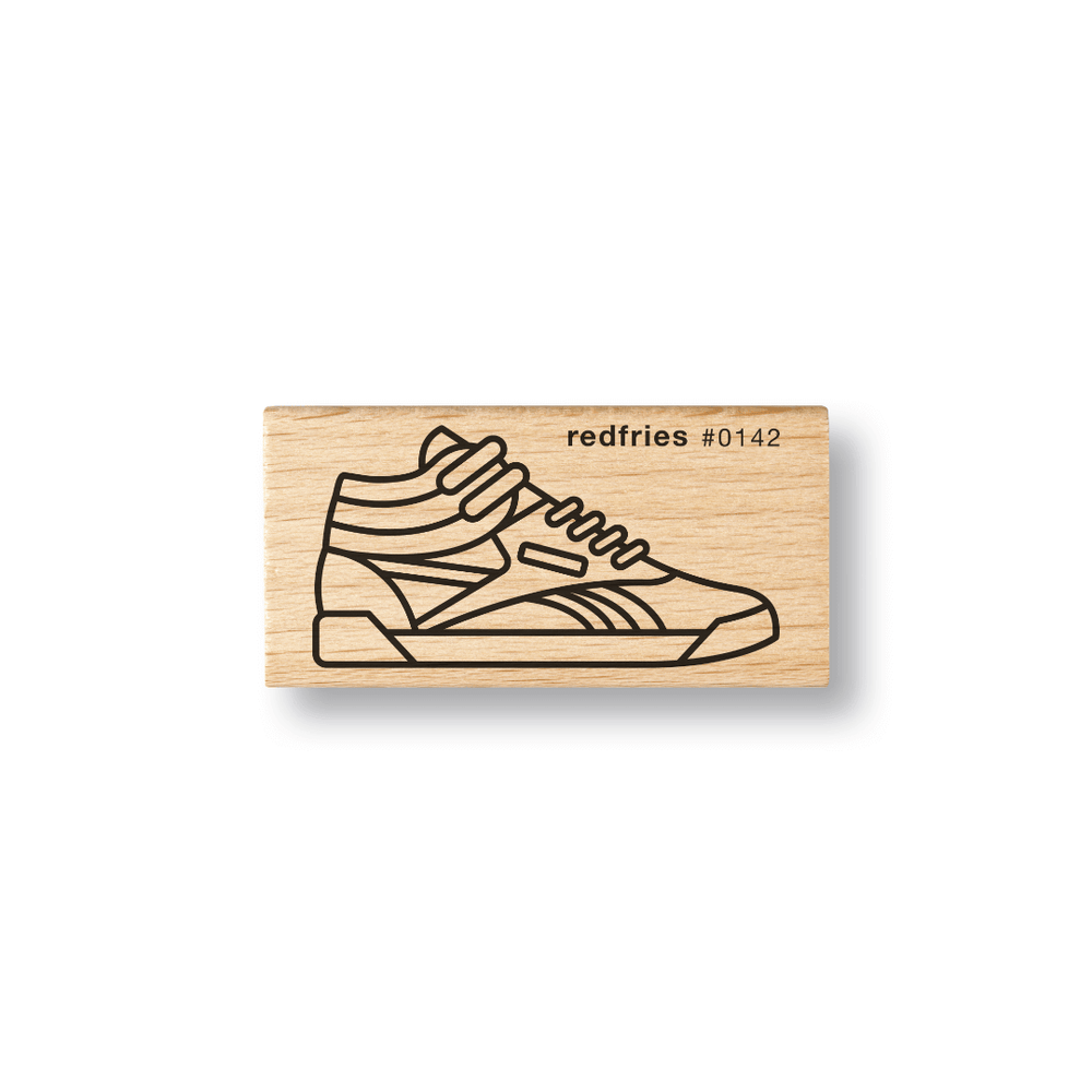 Red Fries Rubber Stamp - Sneaker
