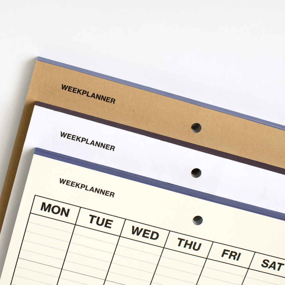 Redo Papers Weekly Planner - Leaves Stationery Store