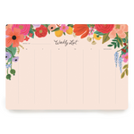 Rifle Paper Co Weekly Planner - Garden Party - Leaves Stationery Store