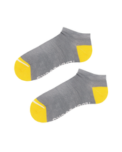Load image into Gallery viewer, Light grey low socks. Ankle socks for men. Women's sustainable socks.