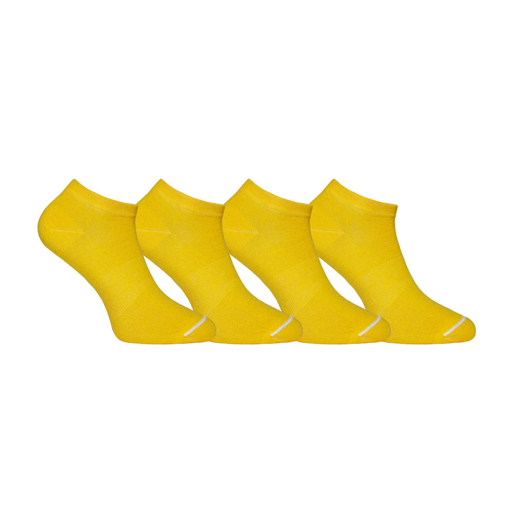 Yellow Low Sock Set