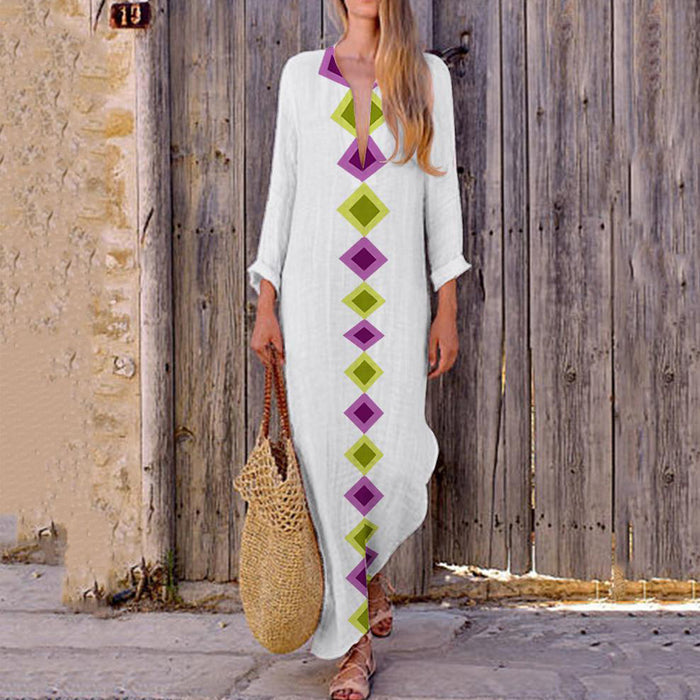 Maxi Dress Indie Folk