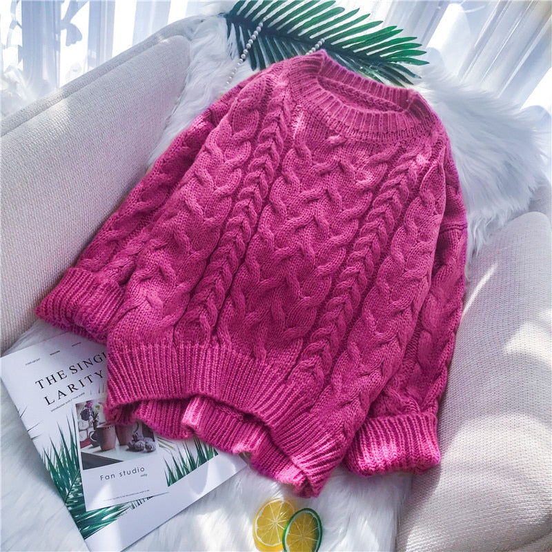 Autumn 2019 Pink Sweater