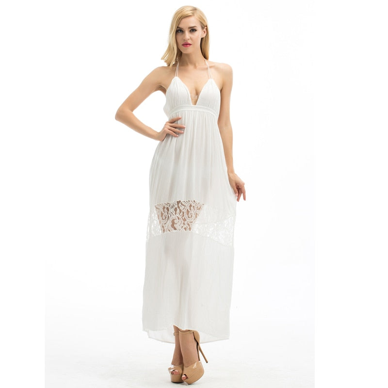 Maxi Beach Sexy Boho Long Dress
