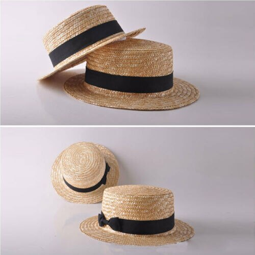 Summer Boho Straw Hat