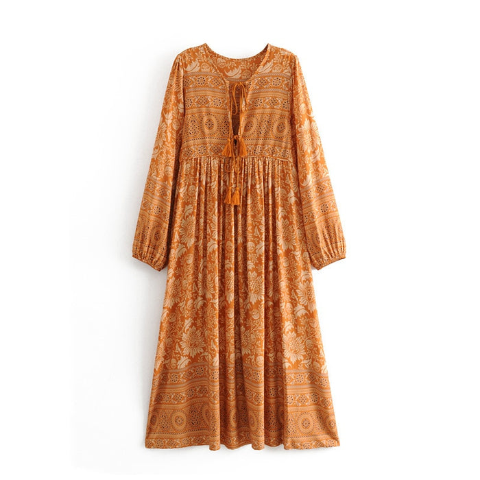 Gypsy tunic boho dress