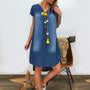 2019 Boho Women Swing Dress