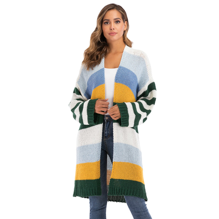 Winter Coat Color Stripe