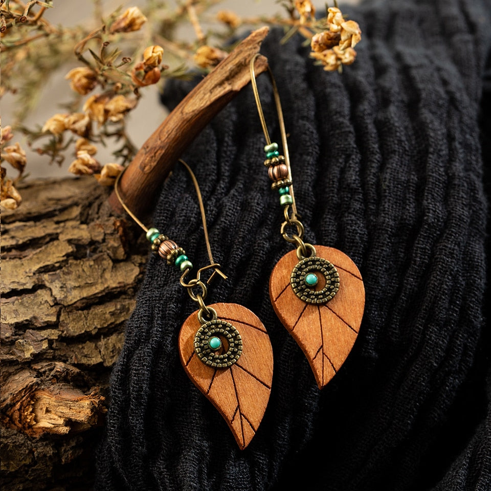 Vintage antique boho Earrings