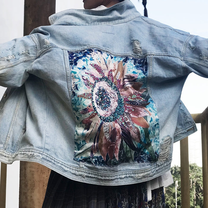 Denim Jacket Long Sleeve