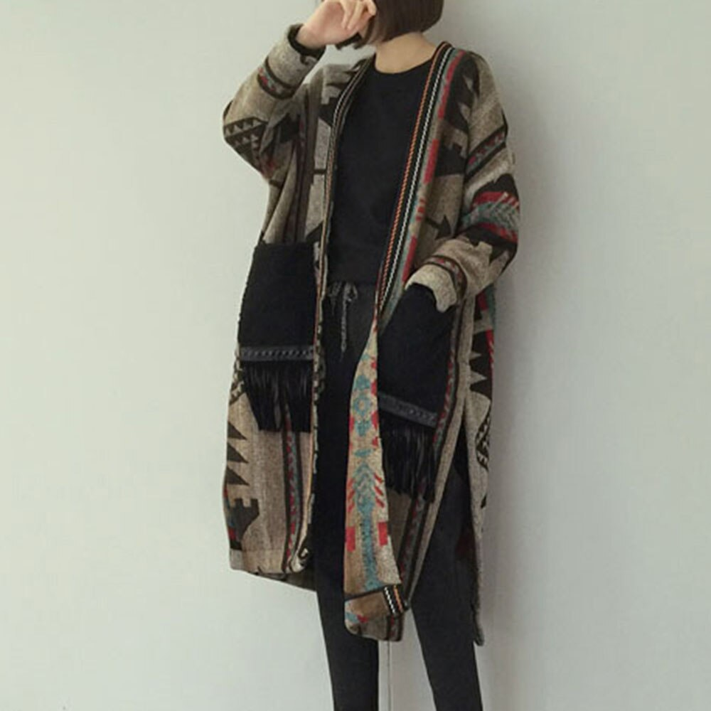 Winter Warm Long Wool Coat