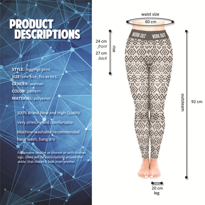 Fitness Leggings Ethno