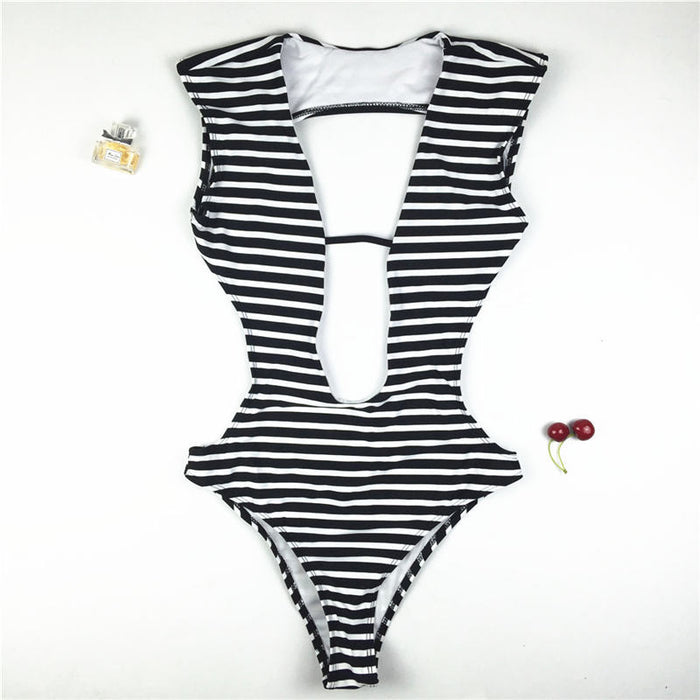 Boho Style One Piece Swim Suit
