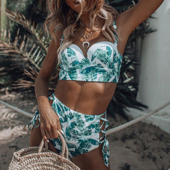 Sexy Two Piece Set Push Up