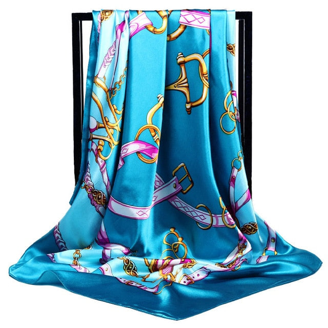 Silk Large Scarf