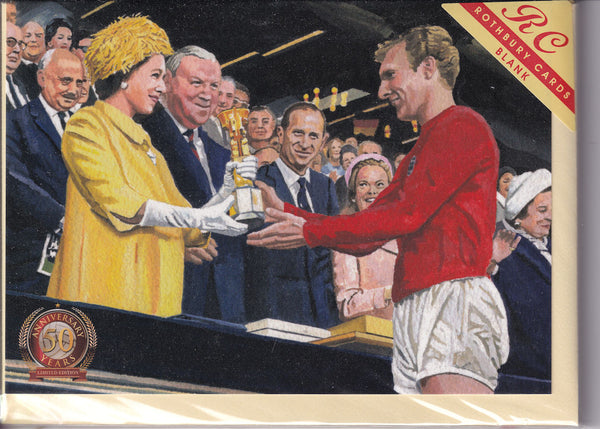1966 World Cup Bobby Moore's Big Day Greetings Card