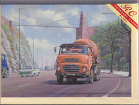 Albion Lorry Under Clifton Bridge Greetings Card - Mike Jeffries