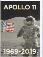 Apollo 11 Moon Landing 1969 - 2019 50th Anniversary Greetings Card
