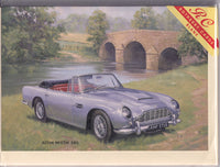 Aston Martin DB5 Vintage Car Greetings Card - Kevin Walsh