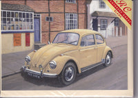 Beetlemania Volkswagen Beetle Car Greetings Card - Kevin Walsh