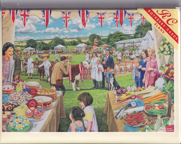 Best In Show Country Show Fair Greetings Card - Trevor Mitchell