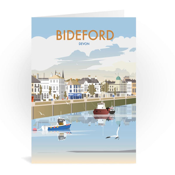 Bideford Devon Greetings Card - Dave Thompson