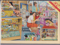 Birthday At The Toy Shop Greetings Card - Trevor Mitchell