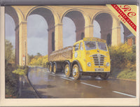 Building Bricks Lorry Greetings Card - Malcolm Root
