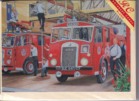 Call The Fire Brigade! Greetings Card - Trevor Mitchell