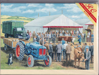 Cattle Market Greetings Card - Trevor Mitchell