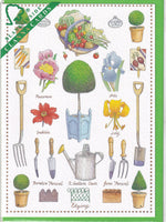 The Art Of Gardening Greetings Card - Richard Partis For Clanna Cards